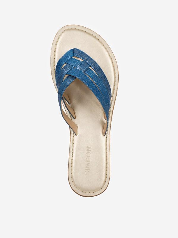 Sulia02, Todos los zapatos, Sandalias Planas, AZU_S