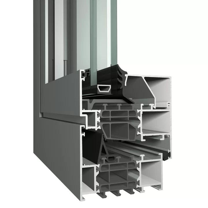 Profil ferestre aluminiu Reynaers Masterline 8