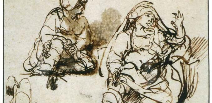 Rembrandt, Due donne ammalate