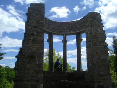 what are probably the only ruins in canada - photo