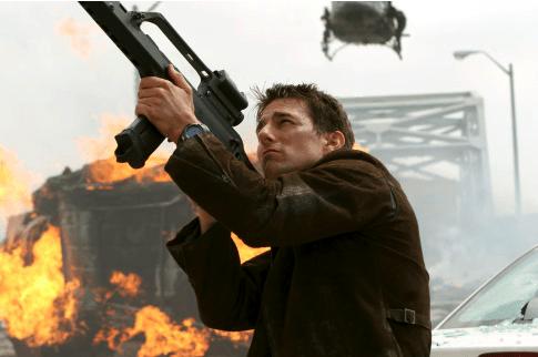 Tom Cruise im Einsatz