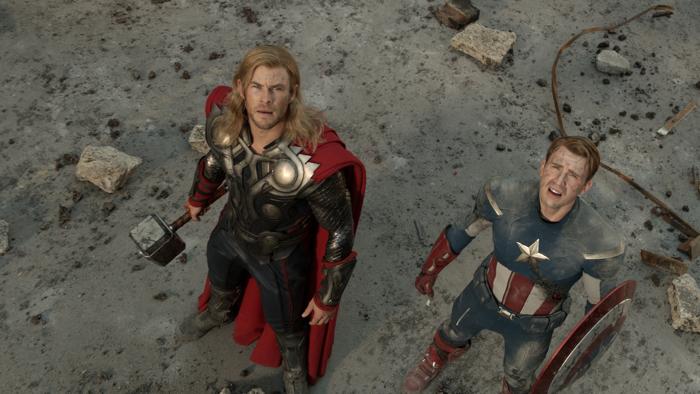 Zwei Helden.
