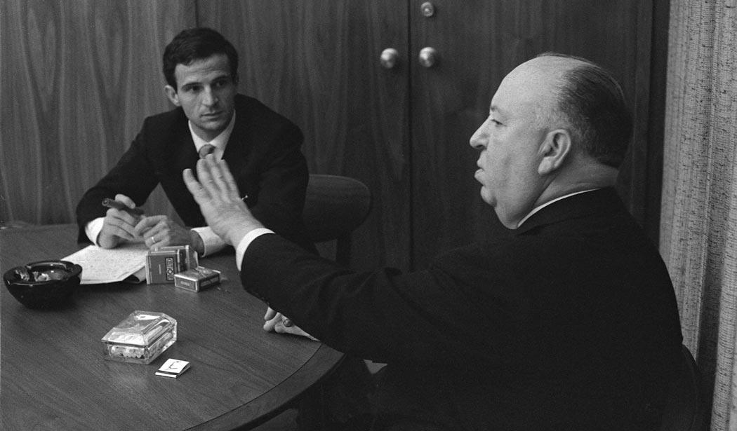 Truffaut und Hitchcock im Gespräch.