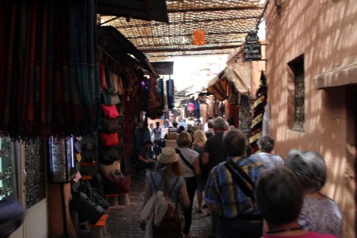El zoco de Marrakech no es el mejor lugar para orientarse