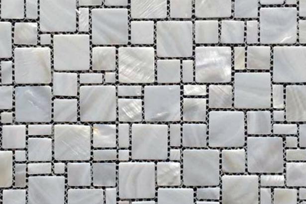 Siminetti Bianco Multi-Square Mosaic