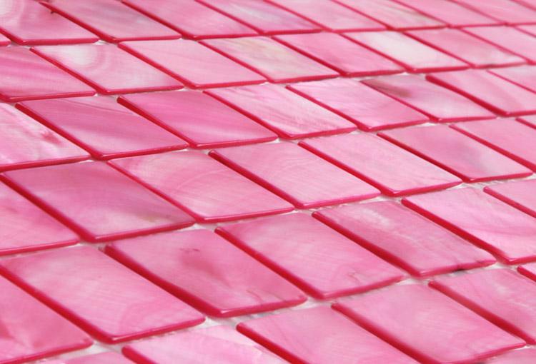 Blush Pink Mosaic Tiles