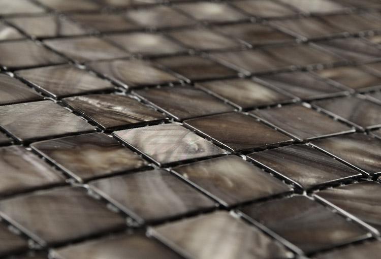 Dove Grey Mosaic Tiles