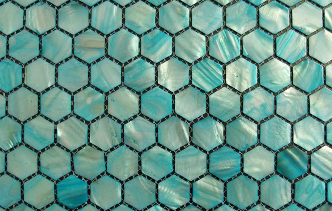 Jade Hexagons