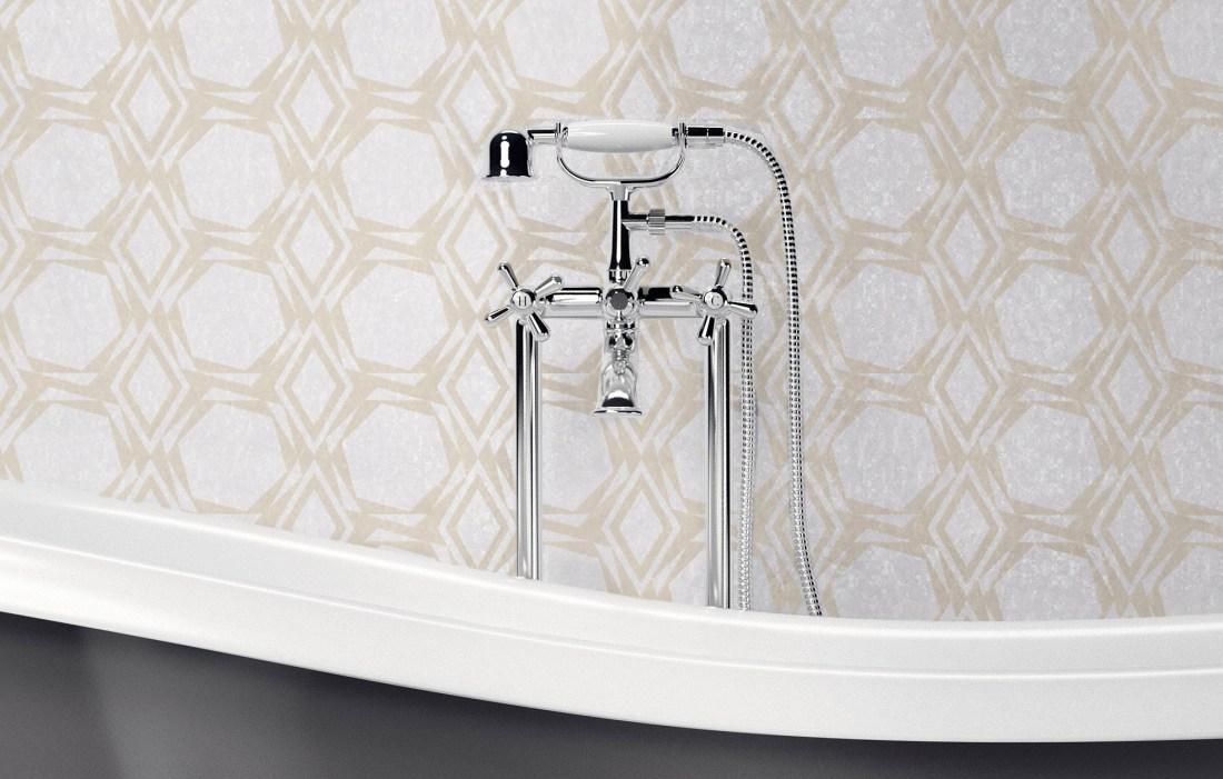 Crystal Golden Promise Bathroom