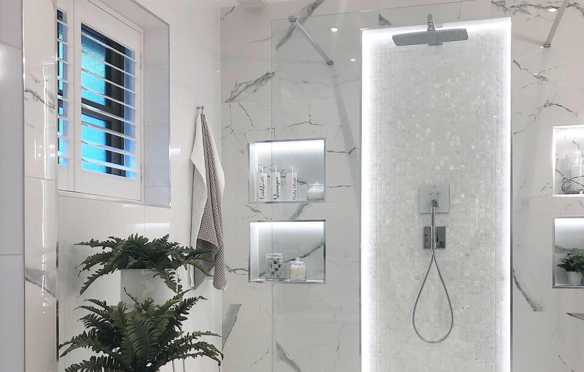Bianco 25mm Bathroom