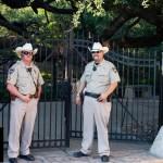 {Trey USA San Antonio walk – we protect… you may not pass}