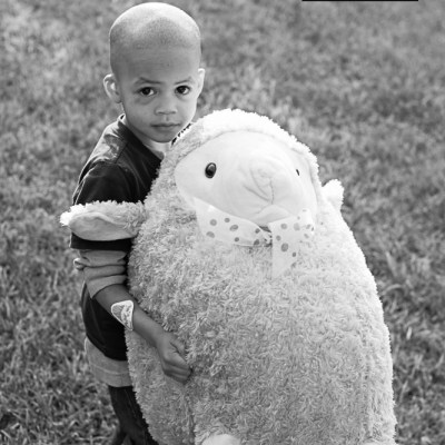 {day 082 project365 2016… a boy and his sheep}