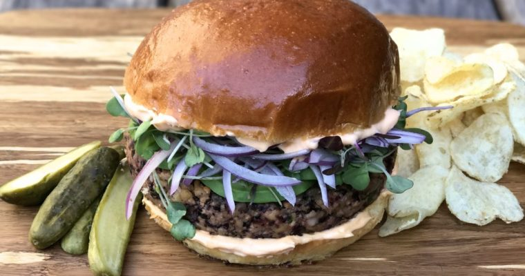 The Ultimate Veggie Burger, Trust Me, It's Worth It