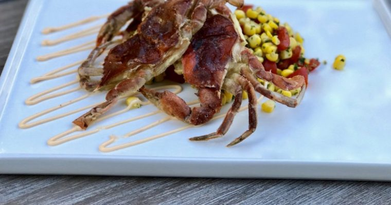 Pan Seared Soft-Shell Crabs Are My Weakness