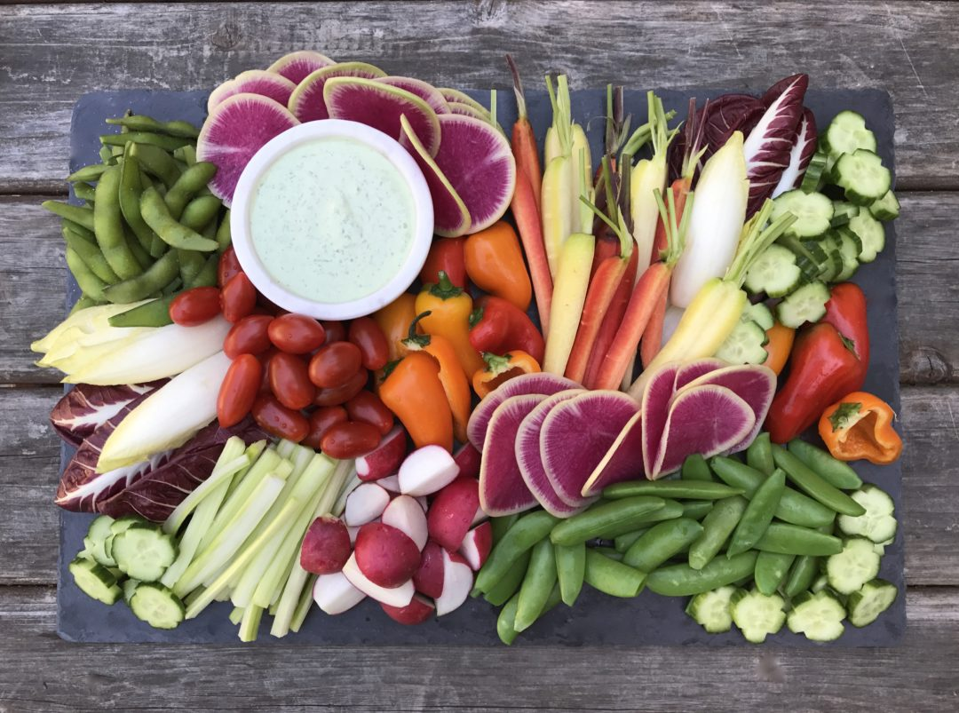 How To Make A Crudité Platter Like A Pro