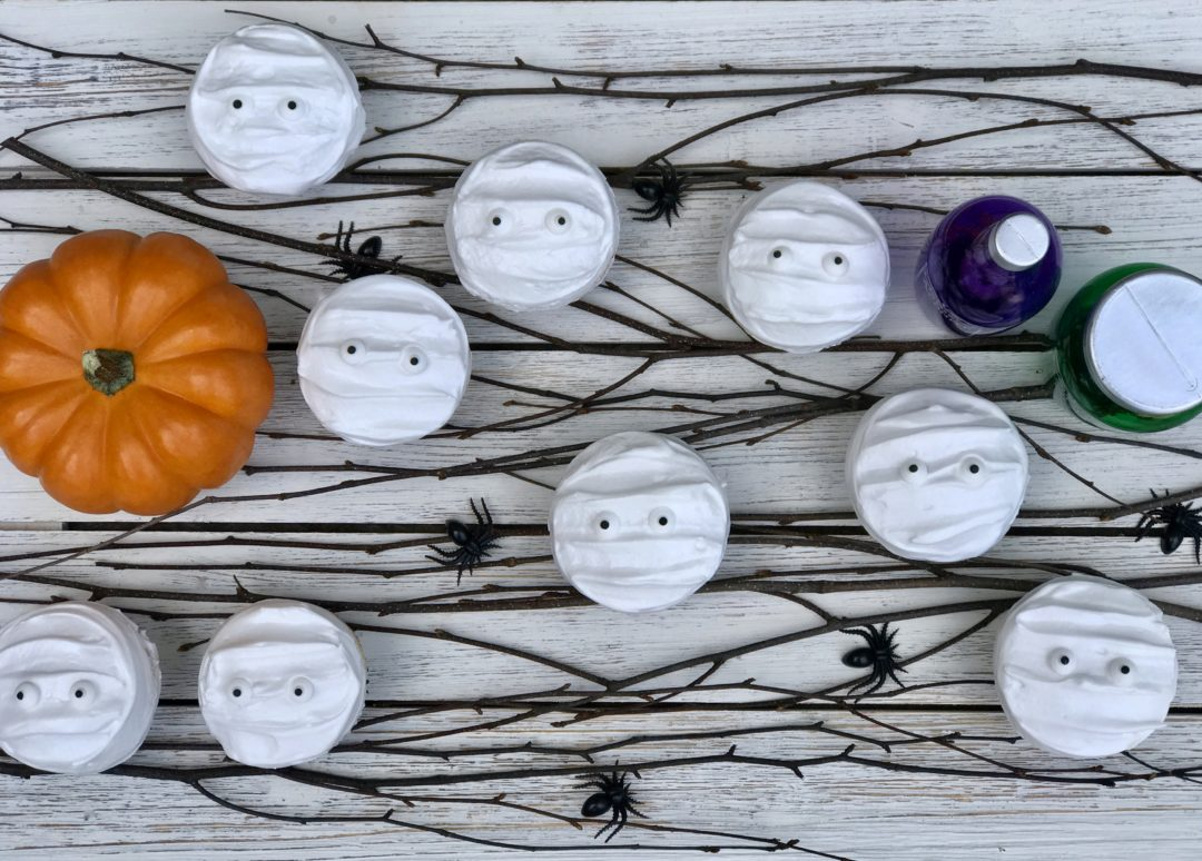 I Call These Mummy Cakes, And They Are Perfect For Halloween