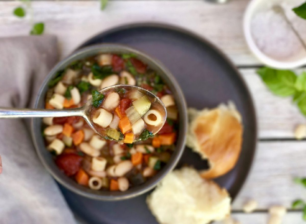 vegetarian ministrone soup