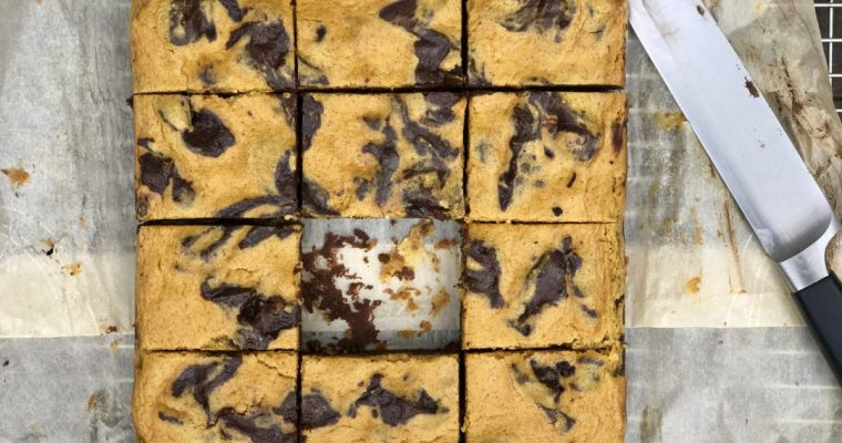 Pumpkin-Cheesecake Brownies That Are Out Of This World