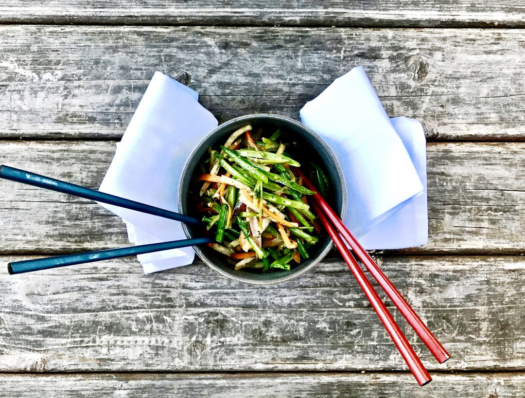 Matchstick Vegetable Stir-Fry, For All The Veggie Lovers Out There