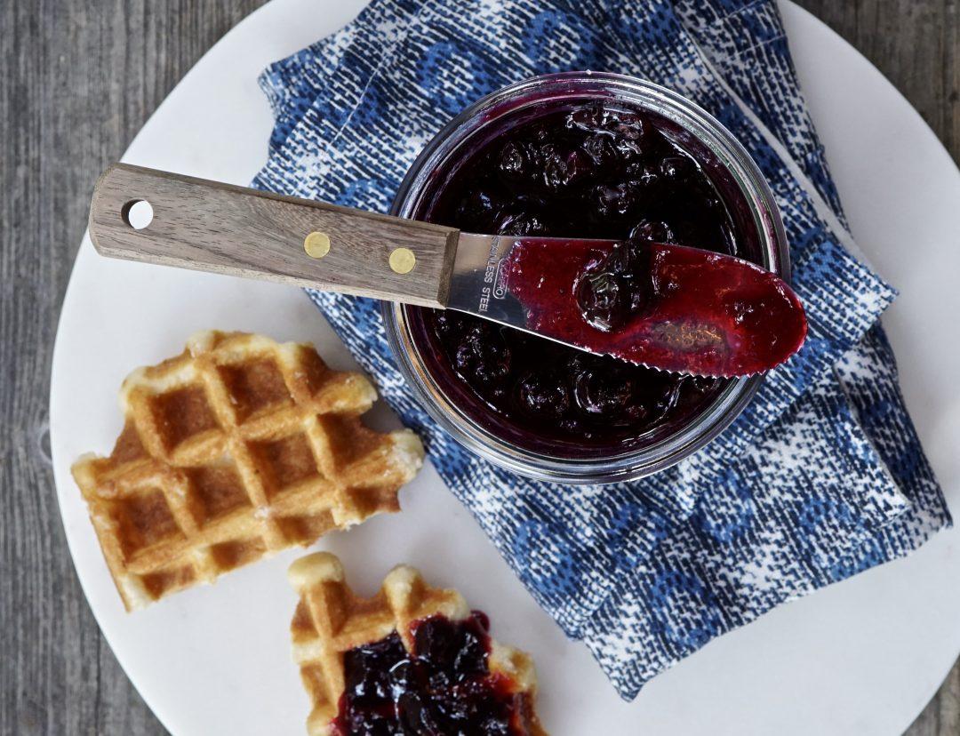 Fresh Blueberry Quick Jam