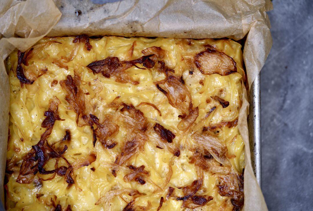 Caramelized Onion Kugel