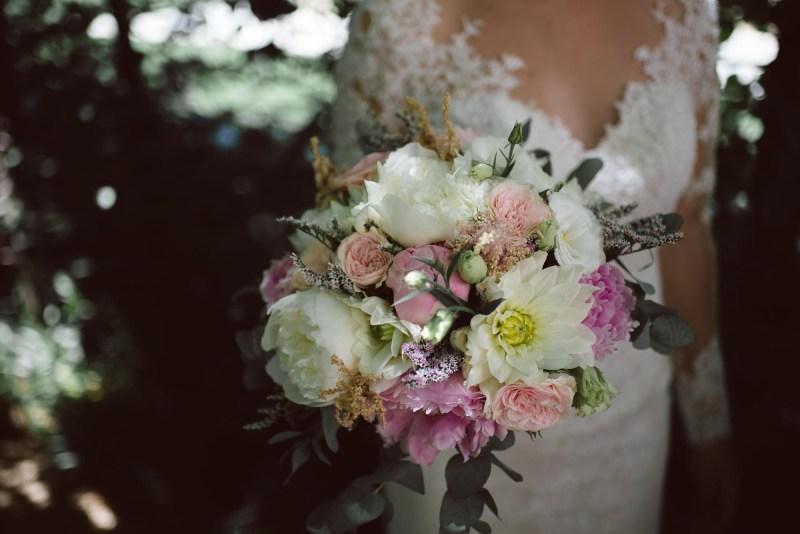 bouquet ortensie PEONIE cipria