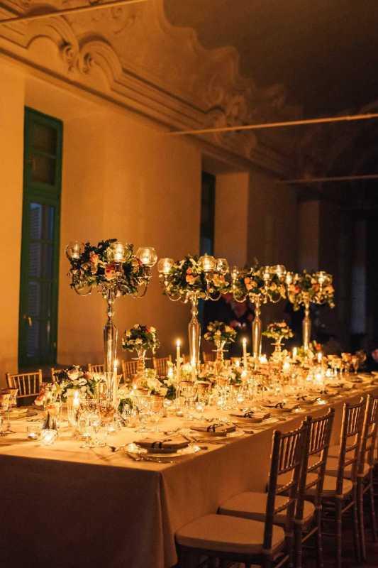 Centrotavola Imperiale per la Galleria di Villa Bria - PH L. Lanzafami V. Elia: