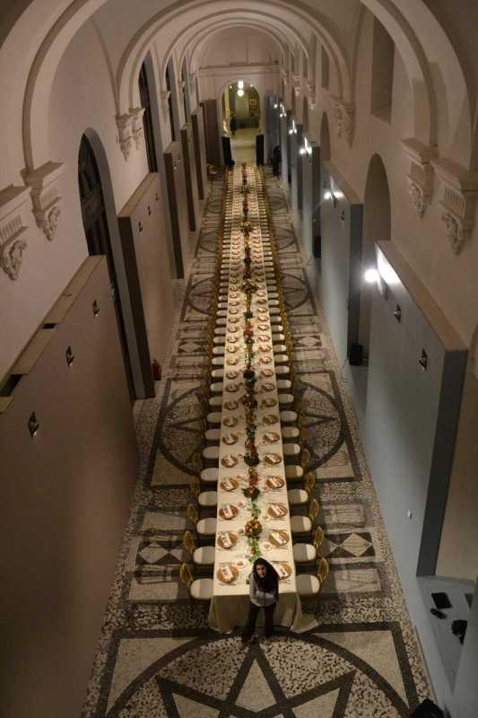 tavolo imperiale al museo del risorgimento torino