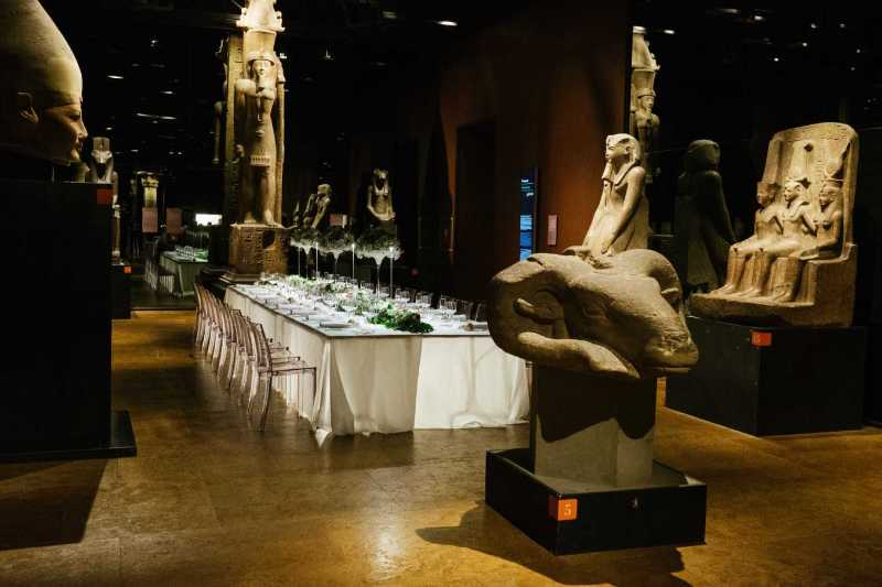 Tavolo Imperiale - Museo Egizio Torino - PH A. Guermani: