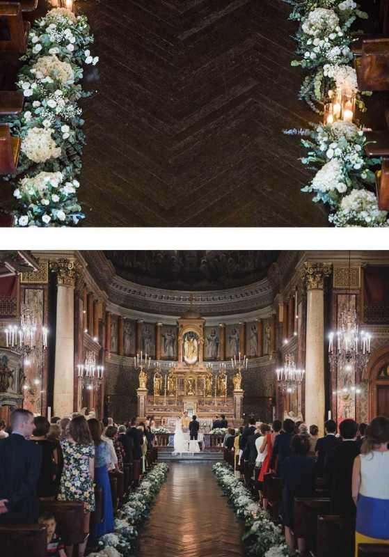 Allestimento Navata Chiesa Santi Angeli Custodi - PH D. Bozzalla: