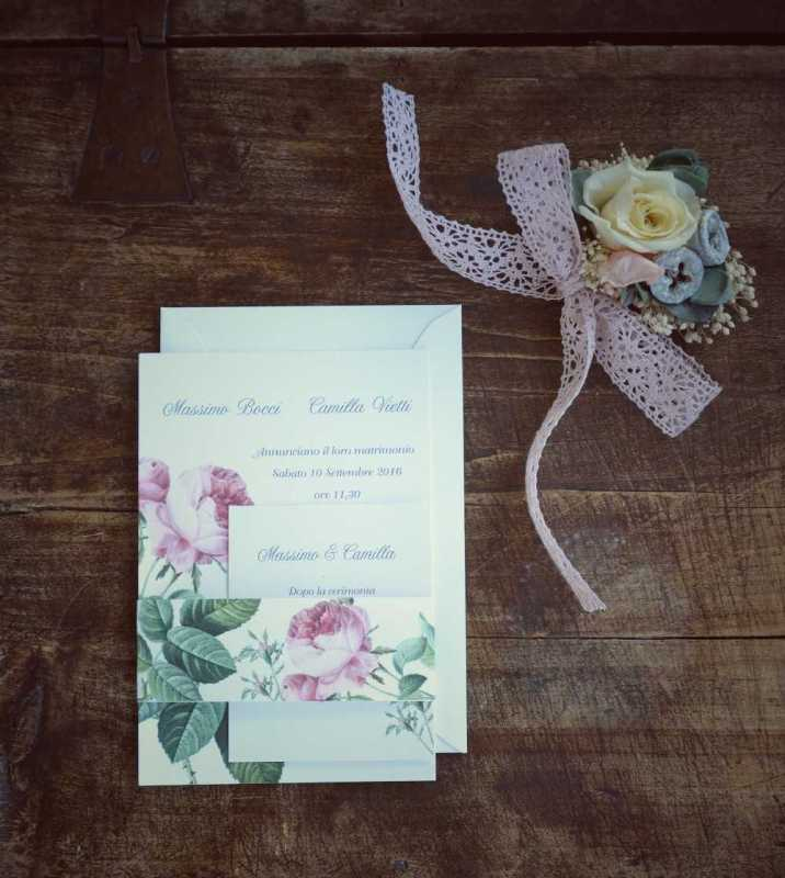 partecipazioni originali e personalizzate per matrimonio a torino