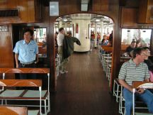 On board the Star Ferry, Hong Kong.