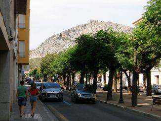 Castell del Montgrí from Torroella de Montgrí
