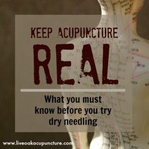 What you must know before you try Dry Needling.
