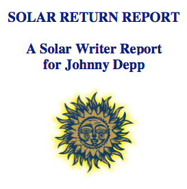 Solar Returns Report for Johnny Depp