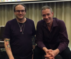 Brad Whisnant and Simon Altman at the Tung distal Acupuncture Workshop.