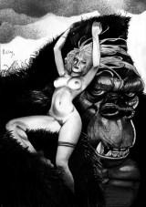 Simon Bisley - Girl-Kong