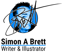 Simon A Brett - Writer & Illustrator