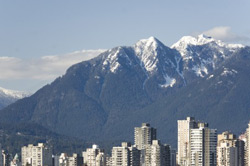 Vancouver North Shore Mountains