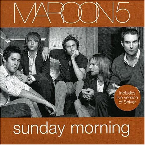 Maroon 5 Sunday Morning CD cover