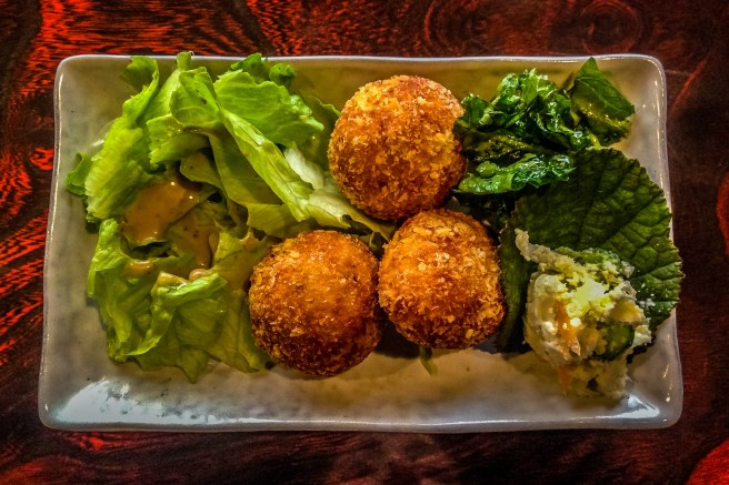 Croquettes - a Nishimera speciality.