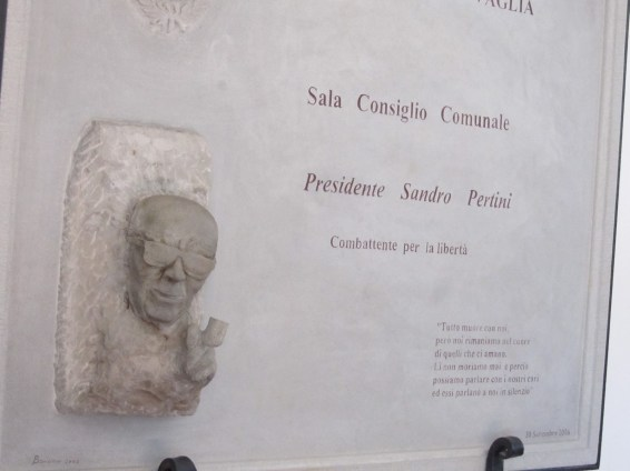 Targa Sandro Pertini