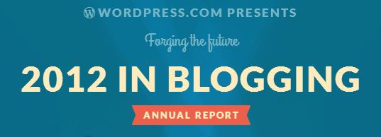 2012 in Blogging