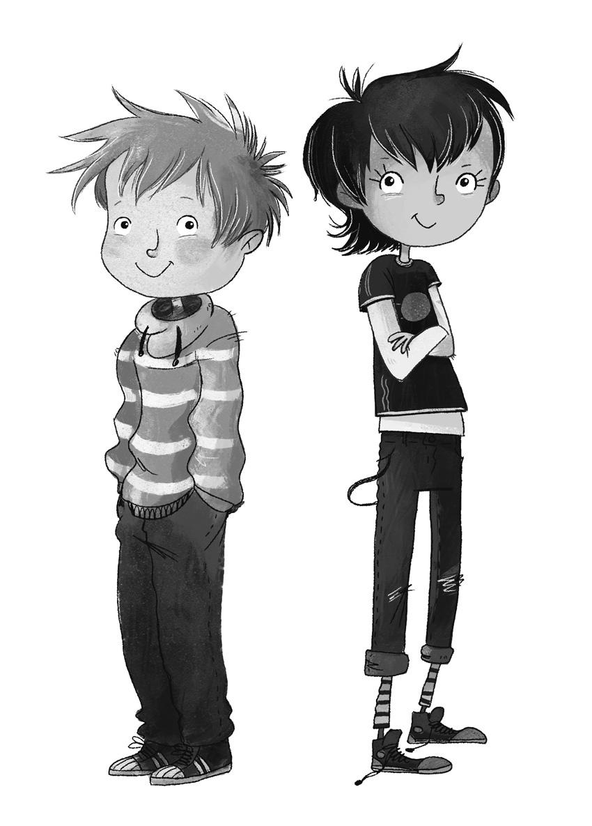 Character Design - Anna & Anton