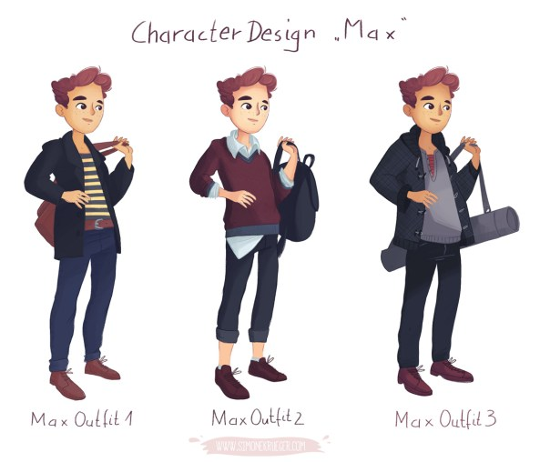 Character Design Max