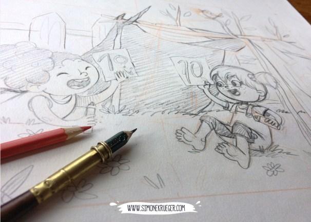 Sketch - Perfect Den