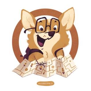 Mascot Design - Student Corgi