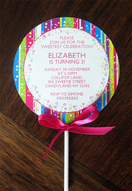 Make Your Own Cardstock Invitations