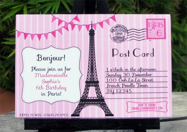 How To Write A Birthday Card In French How To - Sample birthday invitation in french