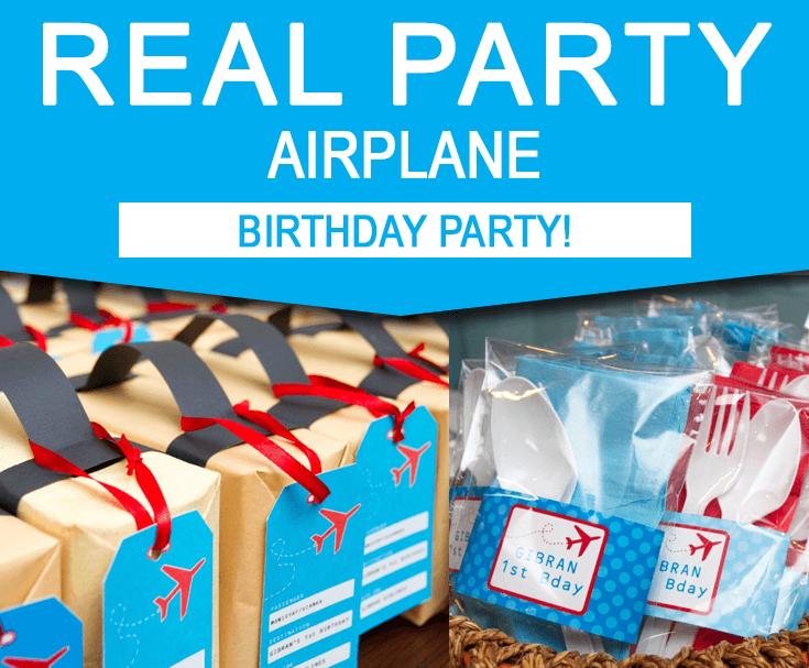 Airplane Party Birthday Ideas